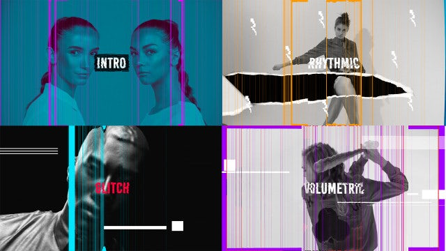 Promo Glitch Intro: After Effects Templates