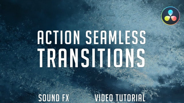 Action Seamless Transitions (Pack 1): DaVinci Resolve Templates