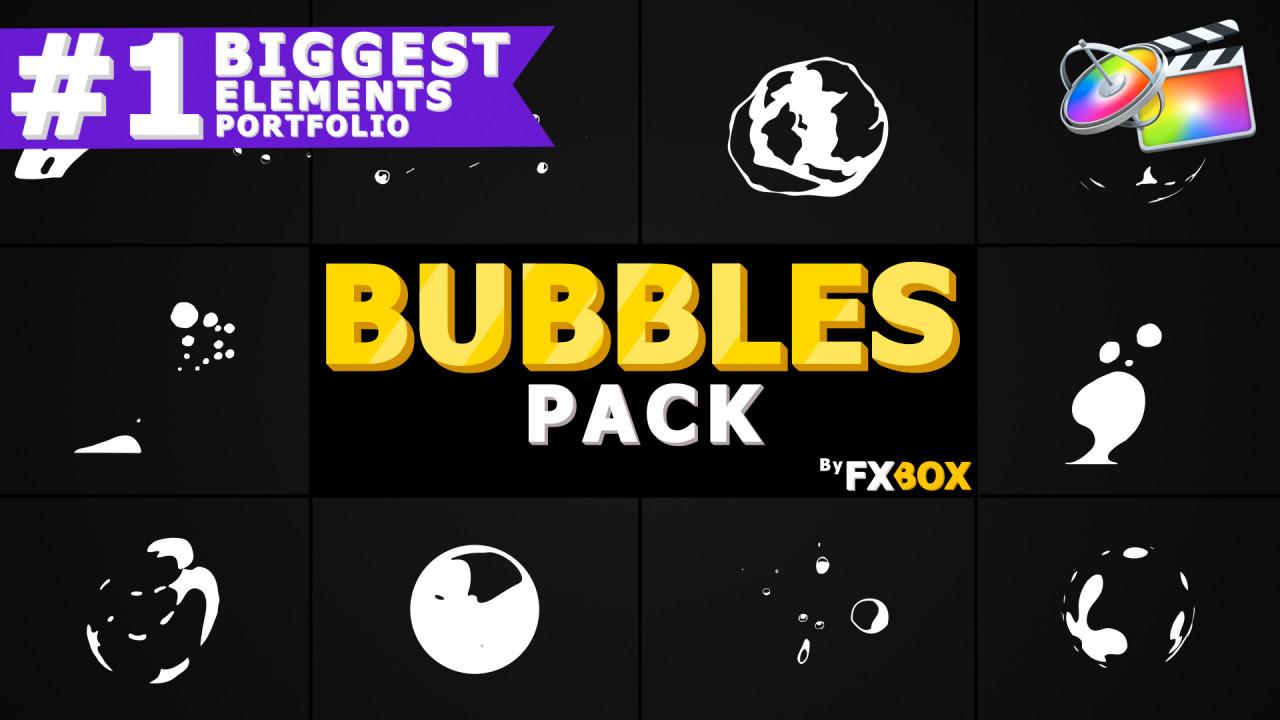 Flash FX Bubble Elements - Final Cut Pro Templates | Motion