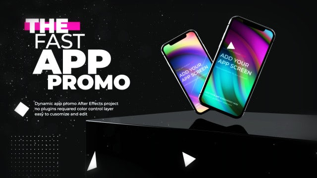 Fast App Promo: After Effects Templates