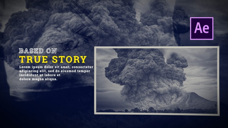 STORM | History Memories Slideshow: After Effects Templates