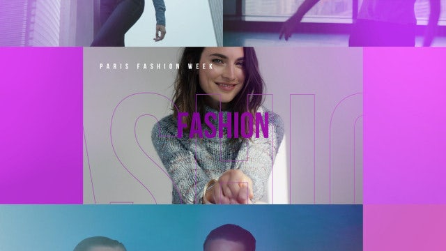 Fashion Media Opener: Premiere Pro Templates