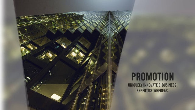 Clean Corporate Intro: After Effects Templates