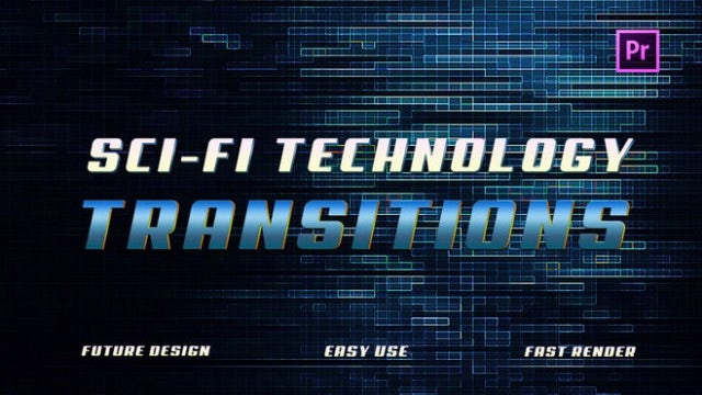 Sci-Fi Technology Transitions: Premiere Pro Presets
