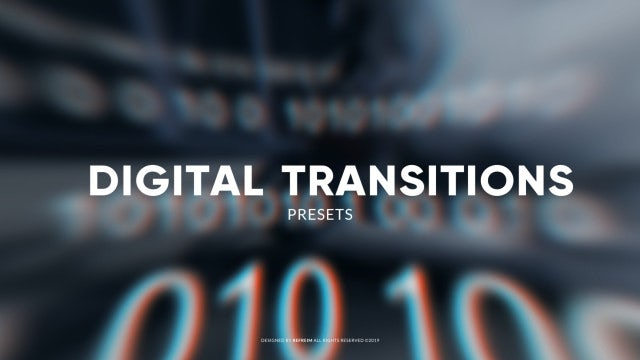 Digital Transitions: Premiere Pro Presets