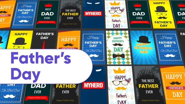 Father's Day Instagram Stories: Motion Graphics Templates