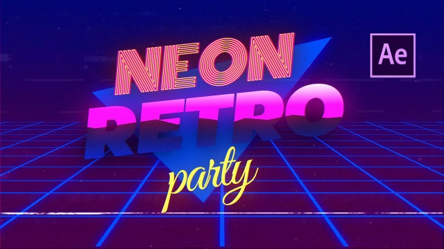 Glow | VHS Promo: After Effects Templates