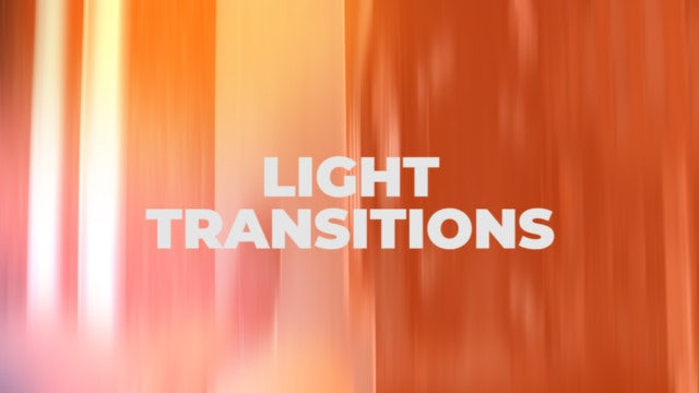 Light Transitions: Premiere Pro Presets