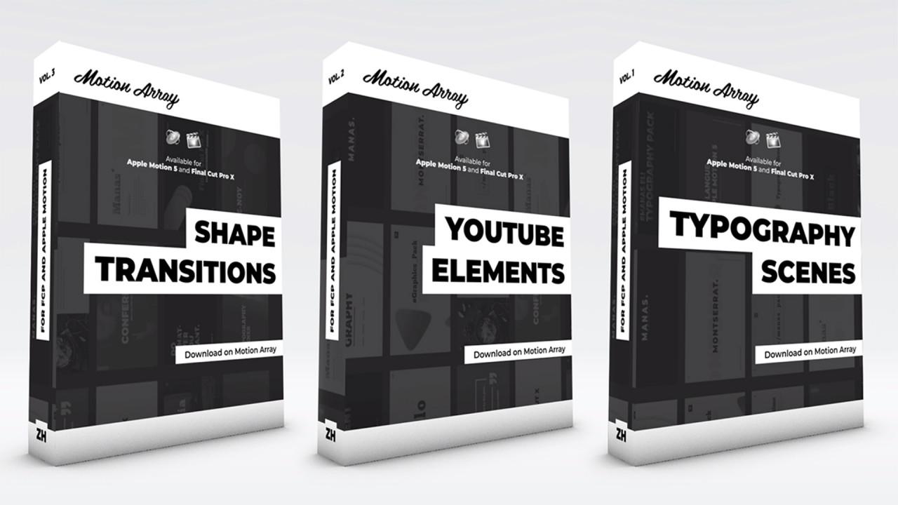 Motion Graphics Pack - Final Cut Pro Templates   Motion Array