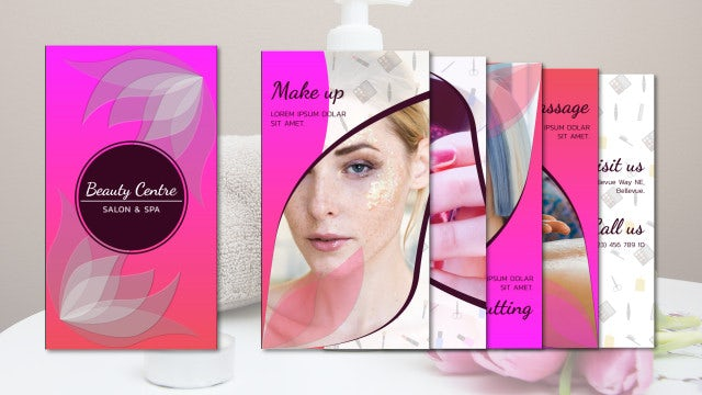 Beauty Centre Promo: After Effects Templates