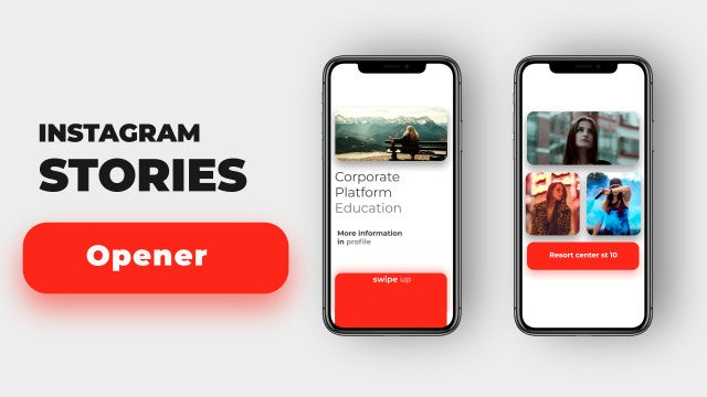Instagram Stories Intro: After Effects Templates