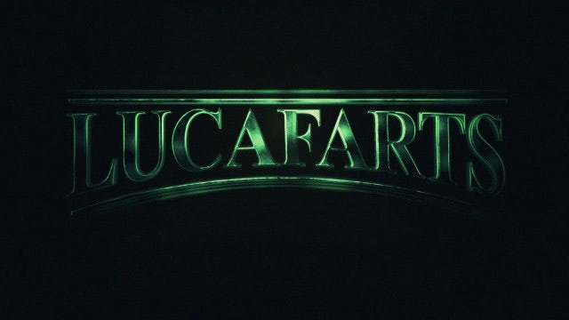 LucaFarts Film Title & Logo Reveal: After Effects Templates