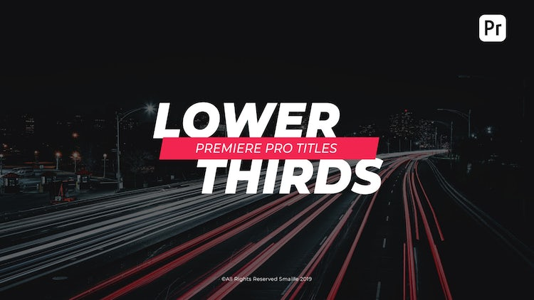 Stylish Titles: Premiere Pro Templates