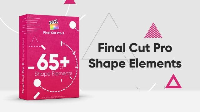 Shape Elements Pack: Final Cut Pro Templates