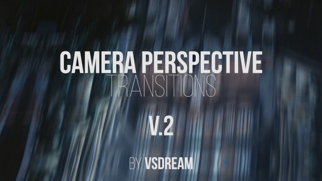 Camera Perspective Transitions V.2: Premiere Pro Templates
