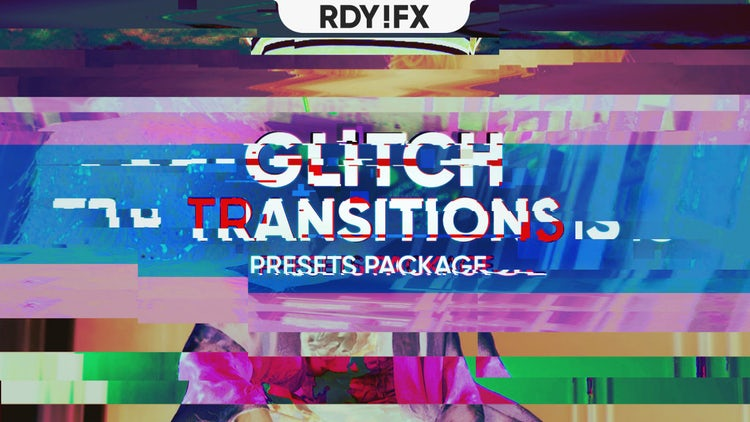 Glitch Transitions Pack 01 - Premiere Pro Presets | Motion Array