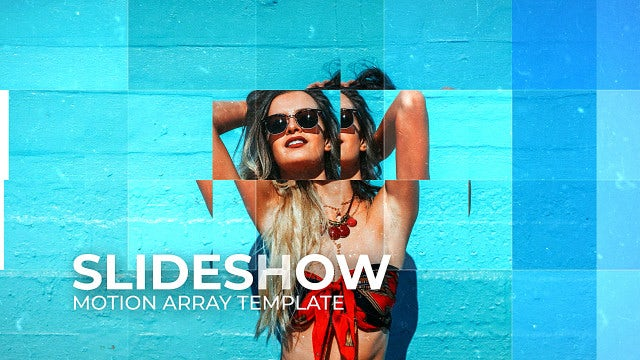 Slideshow Cinematic: After Effects Templates