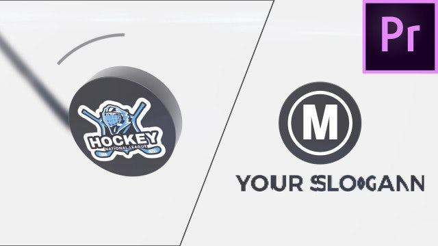 Hockey Logo: Premiere Pro Templates