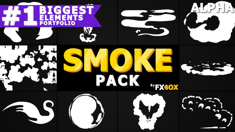 Cartoon Smoke Pack: Stock Motion Graphics