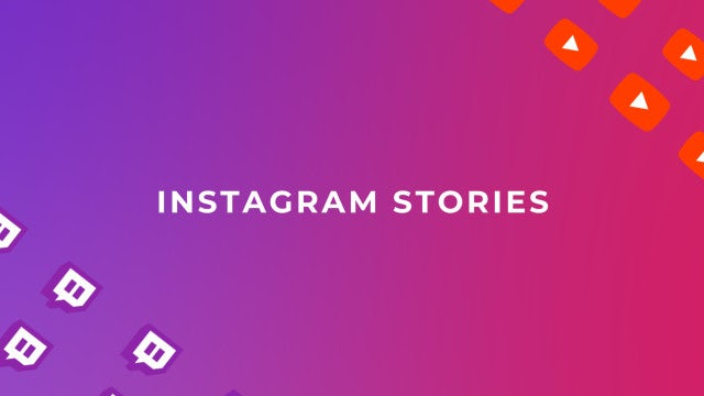 Insta Stories For Twitch And Youtube: Premiere Pro Templates