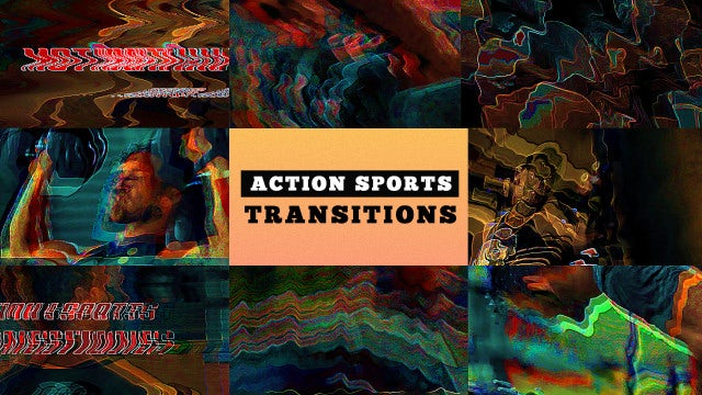 Action Sports Transitions: Premiere Pro Presets