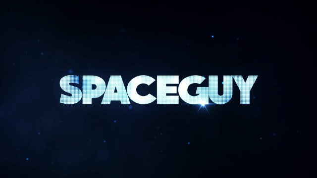 SpaceGuy Title Reveal: After Effects Templates