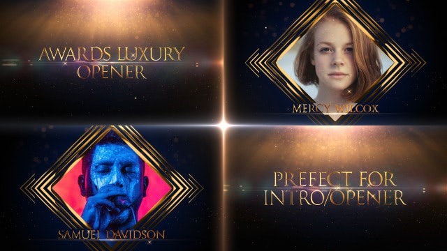 Awards Luxury Opener: After Effects Templates