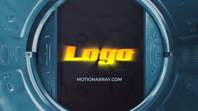 Sci-Fi Industrial Logo: After Effects Templates