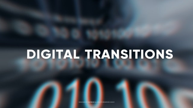 Digital Transitions: After Effects Templates