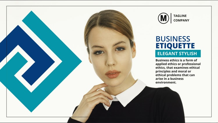 Minimal Corporate Opener: After Effects Templates