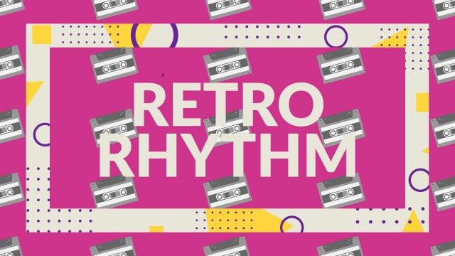 Retro Rhythm: After Effects Templates