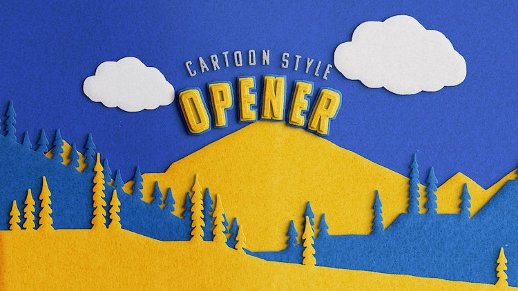 Stop Motion Cartoon Opener: After Effects Templates