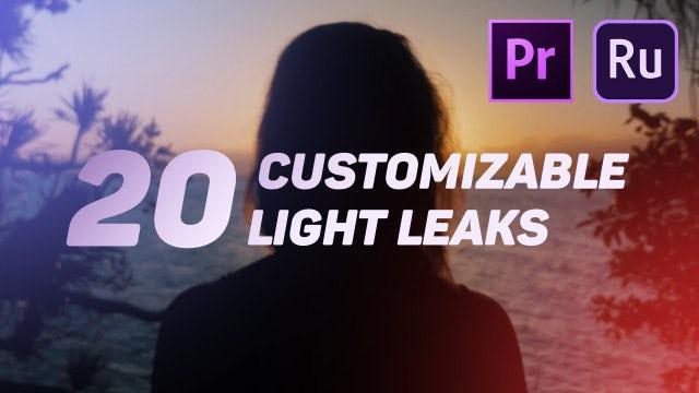 Light Leaks: Motion Graphics Templates