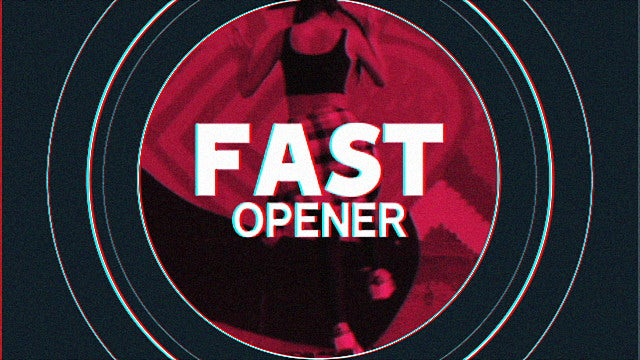 Fast Stomp Opener: Premiere Pro Templates