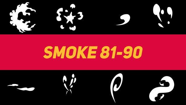 Liquid Elements Smoke 81-90: Motion Graphics Templates
