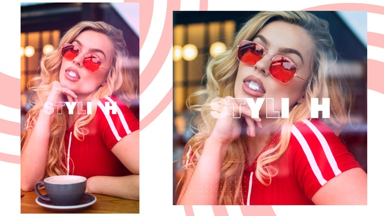 Stylish Promo Square And Vertical: After Effects Templates