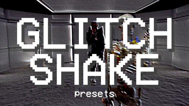 Glitch Shake Presets: Premiere Pro Presets