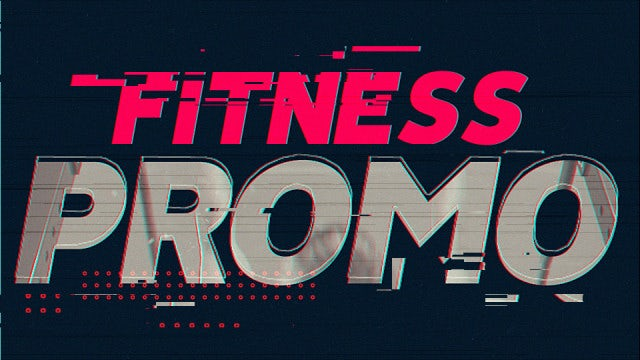 Fitness Promo: After Effects Templates