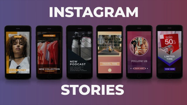 Instagram Stories 4: After Effects Templates
