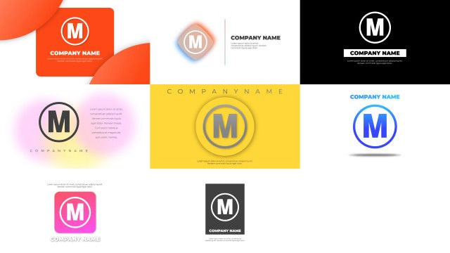 Modern & Elegant Logo Pack: After Effects Templates