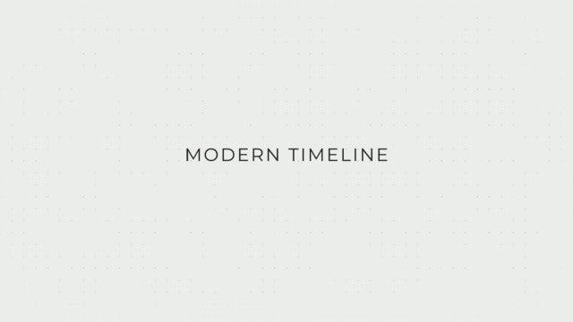 Modern Timeline: Premiere Pro Templates