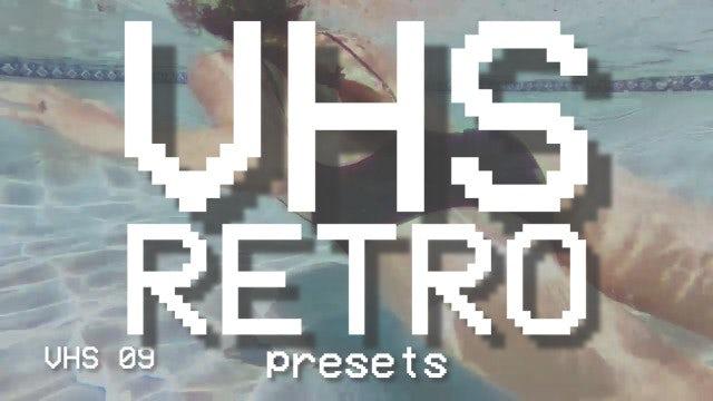 VHS Retro Presets: Premiere Pro Presets