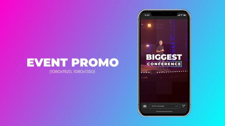 Event Promo (Vertical): Premiere Pro Templates
