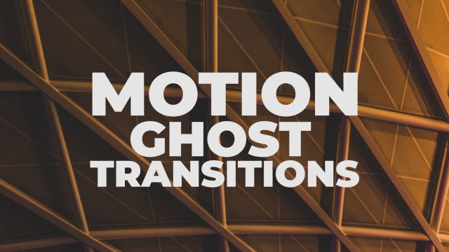 Motion Ghost Transitions: Premiere Pro Presets