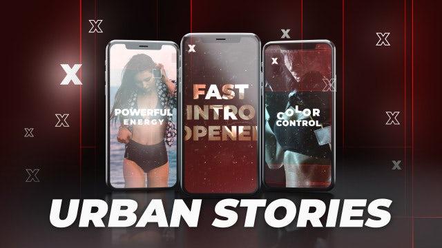 Instagram Stories Urban Glitch: After Effects Templates