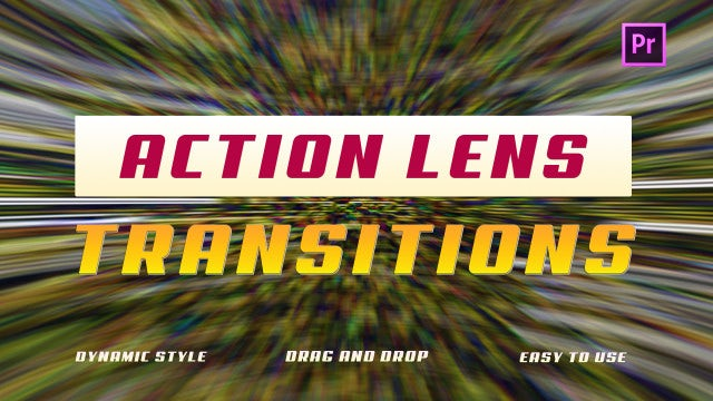 Action Lens Transitions: Premiere Pro Presets