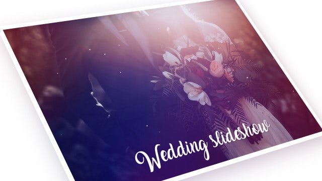Wedding Slideshow Romantic Memories: Premiere Pro Templates