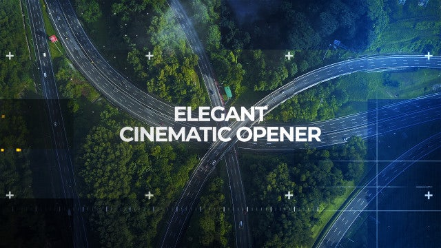 Elegant Cinematic Opener: After Effects Templates