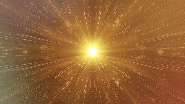Golden Rays: Stock Motion Graphics