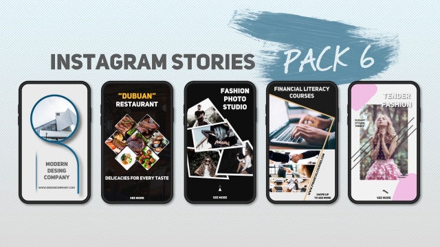 Instagram Stories Pack 6: After Effects Templates